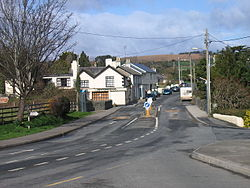 The village of Newcastle