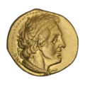 INC-2075-a Пентадрахма Египетское царство Птолемей II (аверс).png