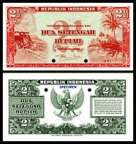 Banknotes Of The Rupiah Wikipedia