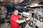 ISS-56 Sergey Prokopyev works in the Columbus module.jpg