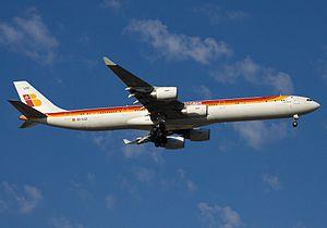 Iberia Airbus A340-642 EC-LCZ.jpg
