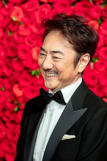 "Ichimura Masachika from ""The Man Who Invented Christmas"" at Opening Ceremony of the Tokyo International Film Festival 2018 (43801626490).jpg"