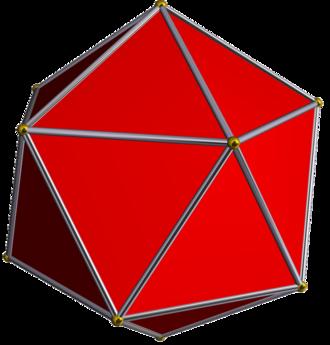 Icosahedron - Image: Icosahedron