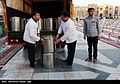 Iftar Serving for fasting people in the holy shrine of Imam Reza 12.jpg