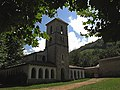 Iglesia de Santa Eulalia - templo medieval del oriente de Asturias (6862837116).jpg