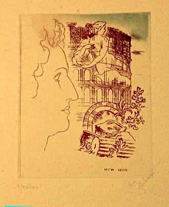 Roman Elegies - Soviet illustration by Ignatiy Nivinskiy, 1933