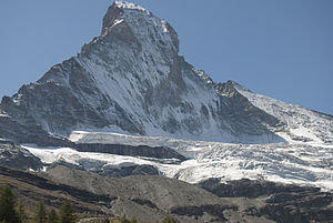 Matterhorn Glacier - Image: Il ghiacciao del Cervino