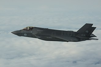 Italian Navy Aviation - The Italian Navy's first F-35B Lightning en route to NAS Patuxent River
