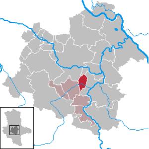 Ilberstedt - Image: Ilberstedt in SLK