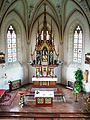 Im Inneren der Wallfahrtskirche Maria Schutz Kronberg.JPG