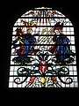 Impressive stained glass window on the south wall at Romsey Abbey - geograph.org.uk - 1169403.jpg