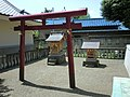 Inari and Akiba Shrines (稲荷社/秋葉神社) in Kamisoshigaya Shimmei Shrine (上祖師谷神明社) - panoramio.jpg