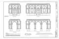 Independence Hall Complex, Independence Hall, 500 Chestnut Street, Philadelphia, Philadelphia County, PA HABS PA,51-PHILA,6- (sheet 26 of 45).png