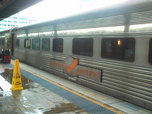 Indian Pacific at Sydney Central