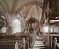 Innenraum der St Dionysius-Kirche Adensen 1852-1958.JPG