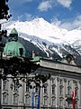 Innsbruck Hofburg with mountain.jpg