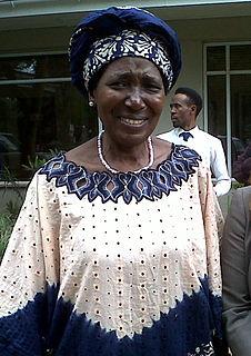 Inonge Wina Zambian politician,  Vice President of Zambia since 2015