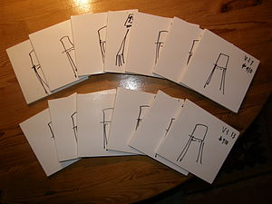 Buckethead - The massive In Search of The box set, a set of 13 albums by Buckethead, along with each copy's cover being hand-drawn differently.