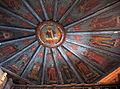 Inside dome of Dormition Church at Kondopoga.jpg