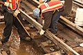 Installing tie blocks and cement on A line (11294072905).jpg