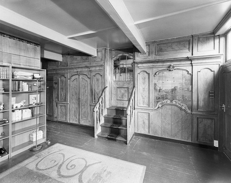 File interieur boerderij voorhuis met scheidingswand for Boerderij interieur