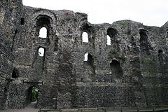Interior of Canterbury Castle 2009.jpg