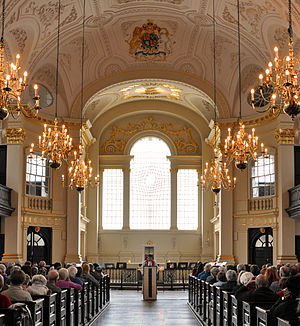 Eric Parry - Interior of St Martin-in-the-Fields, 2002–2008