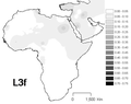 Interpolation maps for L3f haplogroup.png