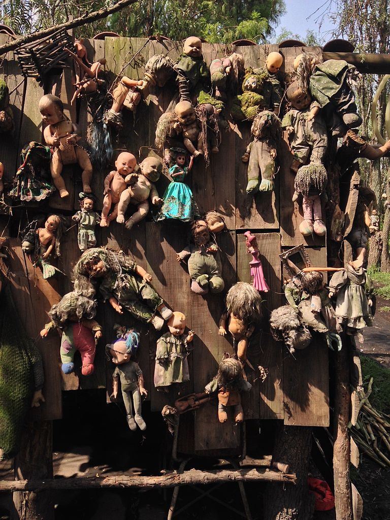 isla de las muñecas, Xochimilco, México DF