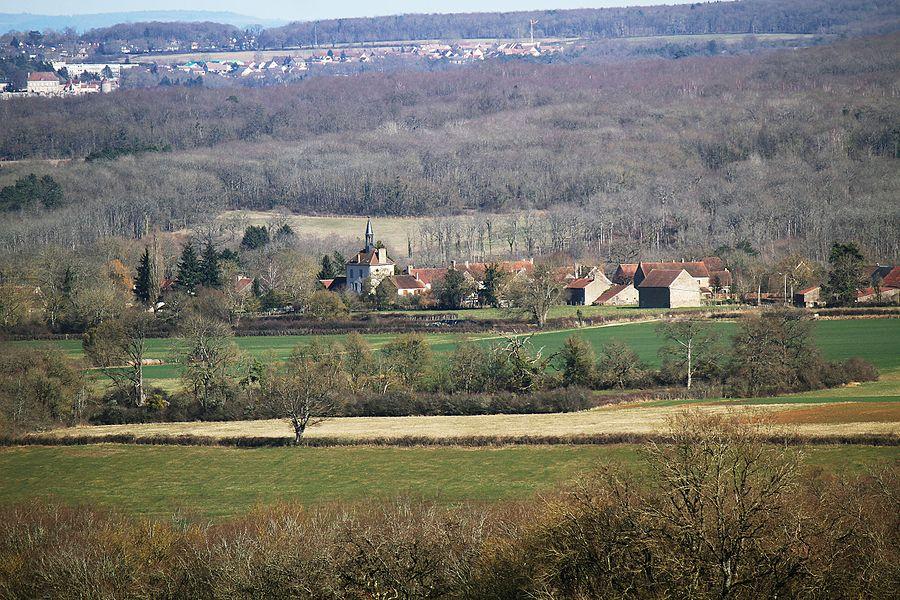 Village d'Island, les bois communaux et les faubourgs d'Avallon