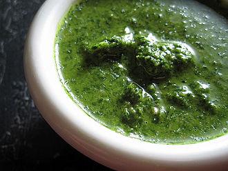 Green sauce - Italian salsa verde