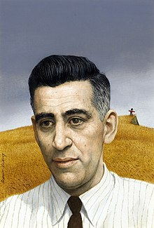 Illustration of J. D. Salinger used for the cover of Time magazine