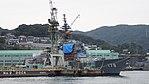 JS Ashigara(DDG-178) right front view at Mitsubishi Heavy Industries Nagasaki Shipyard November 25, 2017 02.jpg