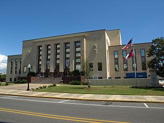 Jackson County, Mississippi - Image: Jackson County MS Courthouse Sept 2012 02