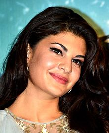 Jacqueline Fernandez is smiling gently
