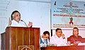 Jairam Ramesh delivering inaugural address at a tripartite meeting on Corporate Social Responsibility Relating to HIVAIDS in Tea Plantation Workers of North-Eastern States and West Bengal, in Kolkata on March 18, 2007.jpg