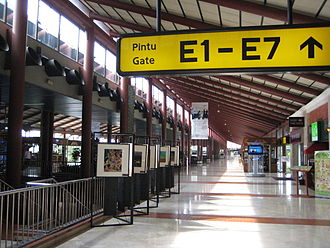 Soekarno–Hatta International Airport - Departure area at Terminal 2