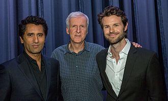 James Napier Robertson - Cliff Curtis, James Cameron, James Napier Robertson appear at the U.S. premiere of The Dark Horse