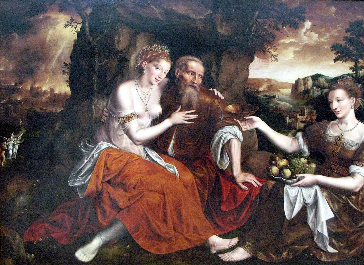Lot and his daughter genesis 19 1