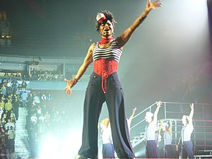 Miss You Much - Jackson performing the song on her Rock Witchu Tour in 2008.