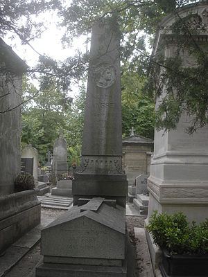 Pierre Janssen - Janssen's grave in Paris