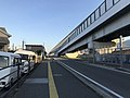 Japan National Route 202 and Fukuoka Express Circular Route near Kamo Station 5.jpg