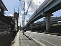 Japan National Route 495 near Fukuoka Women's University.jpg