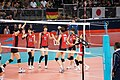 Japan women's national volleyball team at the 2012 Summer Olympics (7913940138).jpg