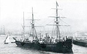 Japanese cruiser Unebi