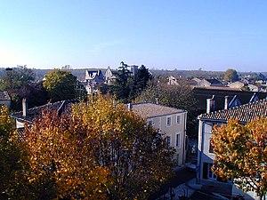 Jarnac - Image: Jarnac eglise depuis mairie