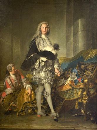 Armand de Vignerot du Plessis - The maréchal-duc de Richelieu, Lisbon, Calouste Gulbenkian Museum, by Nattier