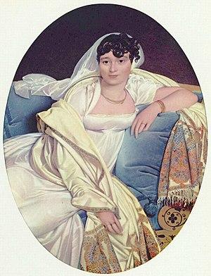 Mademoiselle Caroline Rivière - Portrait of Madame Rivière, 1805