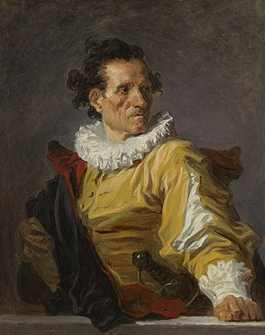 Fantastical Portraits - Image: Jean Honore Fragonard Portrait of a man called the warrior