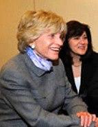 Jean Kennedy Smith and Vicki Kennedy
